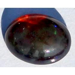 100% Natural Black Opal 1.0 CT Gemstone Ethiopia 0038