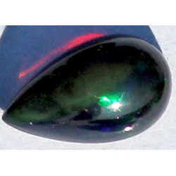 100% Natural Black Opal 1.0 CT Gemstone Ethiopia 0052