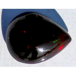 100% Natural Black Opal 2.5 CT Gemstone Ethiopia 0055