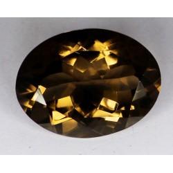 Smoky Quartz 23 CT Gemstone Afghanistan  0055