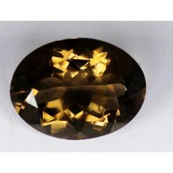 Smoky Quartz 13.5 CT Gemstone Afghanistan  0062
