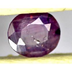 Ruby 0.5 CT Oval Red Gemstone Kashmir 0061
