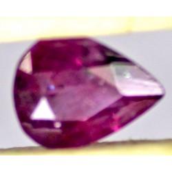 Ruby 0.5 CT Oval Red Gemstone Kashmir 0083