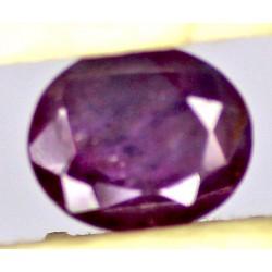 Ruby 0.5 CT Oval Red Gemstone Kashmir 0090