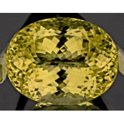 125 CT FLAWLESS YELLOW KUNZITE GEMSTONE