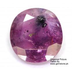Ruby 3.5 CT Oval Red Gemstone Kashmir 0149
