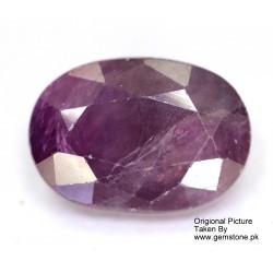 Ruby 3.5 CT Oval Red Gemstone Kashmir 0146