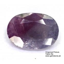 Ruby 2.0 CT Oval Red Gemstone Kashmir 0158