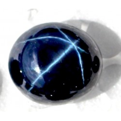 Buy Natural Star Sapphire 19 CT Oval Cut Bangkok   002