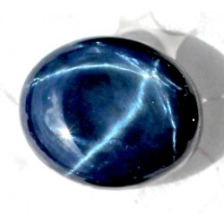 Buy Natural Star Sapphire 20.5 CT Oval Cut Bangkok   006