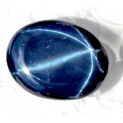Buy Natural Star Sapphire 11 CT Oval Cut Bangkok   009
