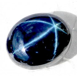Buy Natural Star Sapphire 22 CT Oval Cut Bangkok   0017