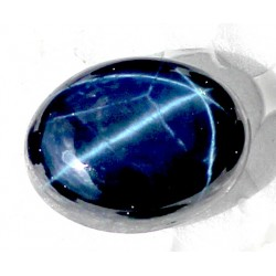 Buy Natural Star Sapphire 13 CT Oval Cut Bangkok   0023