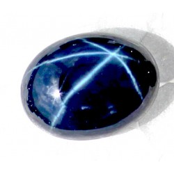 Buy Natural Star Sapphire 13.5 CT Oval Cut Bangkok   0026