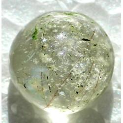 Dur Najaf Rutile Quartz 25 CT Gemstone Afghanistan 062