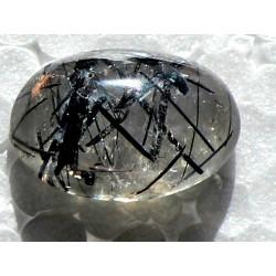 Dur Najaf Rutile Quartz 20.5 CT Gemstone Afghanistan 0137