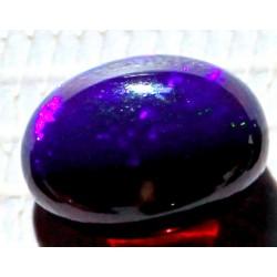 100% Natural Black Opal 5.5 CT Gemstone Ethiopia 0210