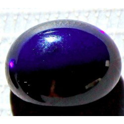 100% Natural Black Opal 6.0 CT Gemstone Ethiopia 0213