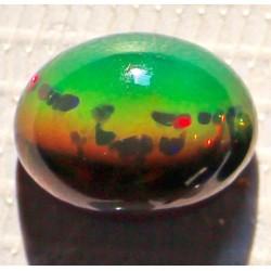 100% Natural Black Opal 5.5 CT Gemstone Ethiopia 0220