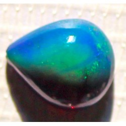 100% Natural Black Opal 2.5 CT Gemstone Ethiopia 0223