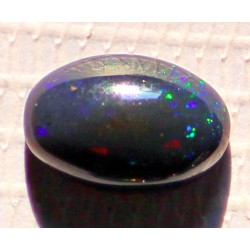 2.5 Carat 100% Natural Black Opal Gemstone Ethiopia Ref: Product No 244