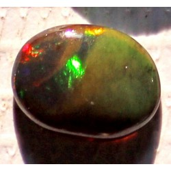 1 Carat 100% Natural Black Opal Gemstone Ethiopia Ref: Product No 338