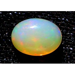1 Carat 100% Natural White Opal Gemstone Ethiopia Ref: Product No 106