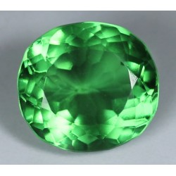 Green Quartz 20 CT Gemstone Afghanistan 006