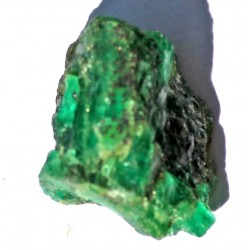39 Carat 100% Natural  Rough Emerald Gemstone Afghanistan Ref: Product No 062