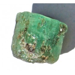 12.0 Carat 100% Natural  Rough Emerald Gemstone Afghanistan Ref: Product No 074