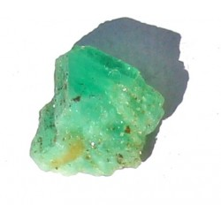 2.0 Carat 100% Natural  Rough Emerald Gemstone Afghanistan Ref: Product No 077