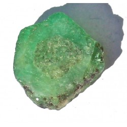 13.0 Carat 100% Natural  Rough Emerald Gemstone Afghanistan Ref: Product No 076
