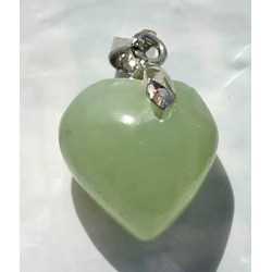 Onyx Pendant 19 CT Green Gemstone Afghanistan 0019