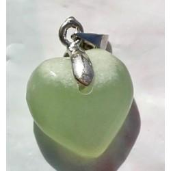 Onyx Pendant 15 CT Green Gemstone Afghanistan 0020