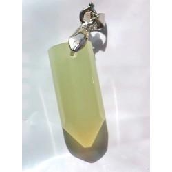 Onyx Pendant 24 CT Green Gemstone Afghanistan 0033