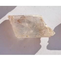 56 CT PINK KUNZITE ROUGH  GEMSTONE AFGHANISTAN 0045