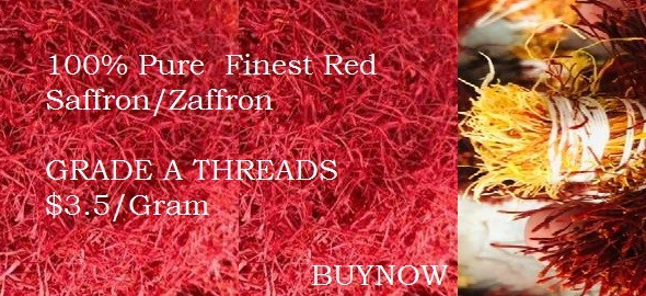 Buy 100% Natural Saffron - Zaffron